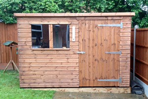 Made-to-measure sheds