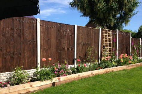Dark Wood Fencing