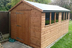 Shed supplies and installations