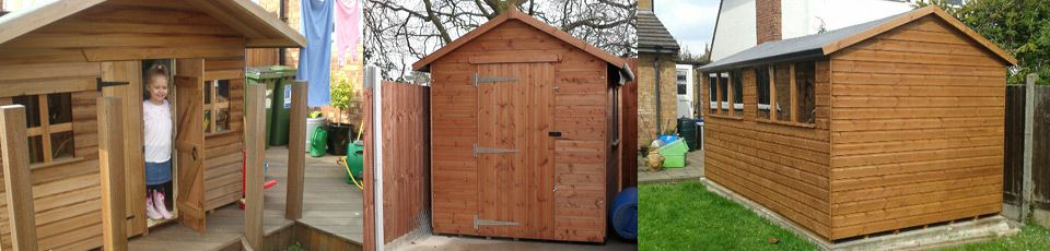Made-to-meaure sheds in Leicester