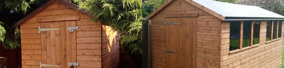 Bespoke Sheds throughout Leicester