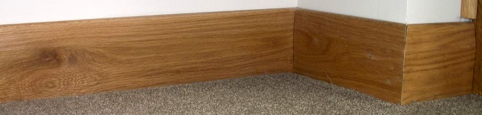 Skirting boards in a variety of styles