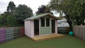 Shed Converted To Playhouse